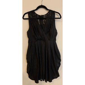 H&M Black Lace Bubble Dress